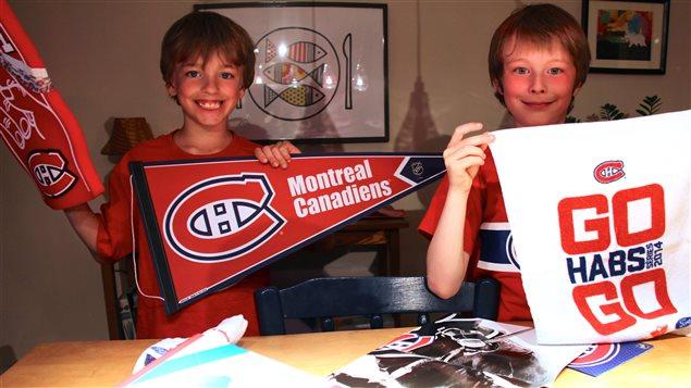 Loïc et Louis sont des partisans du CH depuis la première heure.