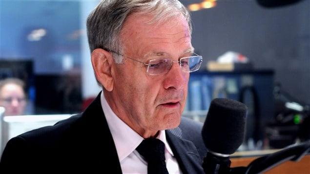 Marcel Côté en entrevue dans nos studios en 2013.