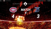 Séries 2014 : Canadien c. Lightning