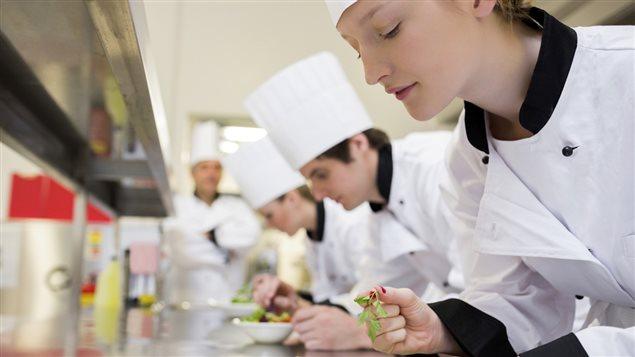 La place des femmes dans les cuisines de restaurants