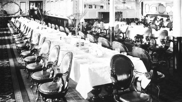 Manger et boire bord de l 39 empress of ireland bien dans for La salle a manger francis jammes