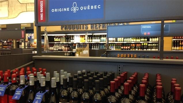 Les vins qu�b�cois � la SAQ