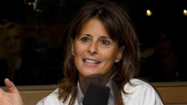 La scénariste et productrice Fabienne Larouche.