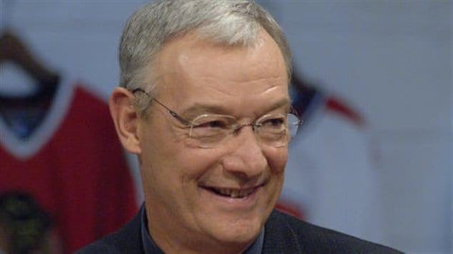 Le journaliste et commentateur sportif René Pothier