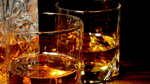 Verres de whisky