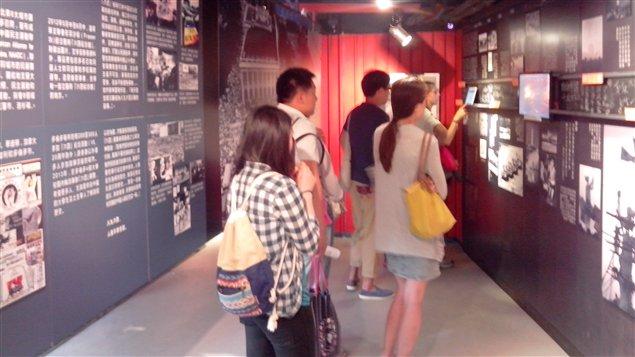 Depuis son ouverture le 26 avril 2014, le musée du 4 juin à Hong Kong accueille près de 200 visiteurs par jour.