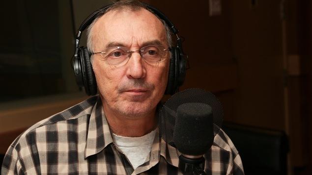 Le comédien Gaston Lepage