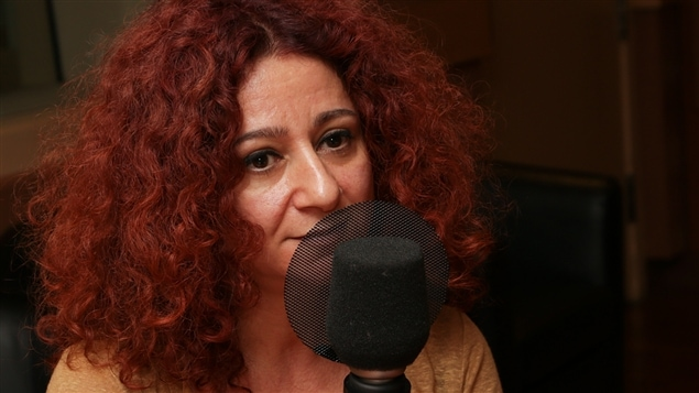 L'actrice et metteure en scène Lina Saneh