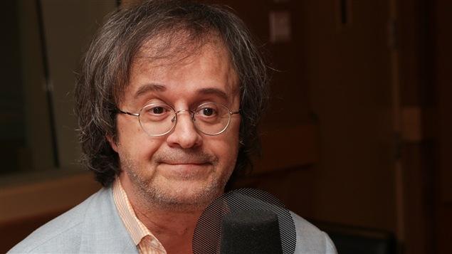 L'auteur et concepteur Stéphane Laporte