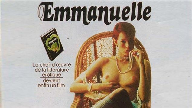 Affiche du ?lm érotique <em>Emmanuelle</em>, de Just Jaeckin, 1974