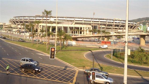 Le mythique stade Maracanä à Rio de Janeiro au Brésil, s'est refait une beauté pour la venue du Mondial de soccer 2014.