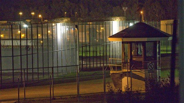 Le Centre de détention d'Orsainville à Québec