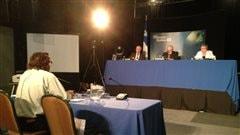 Marc Fafard à la séance de préconsultation du BAPE concernant la filière uranifère.