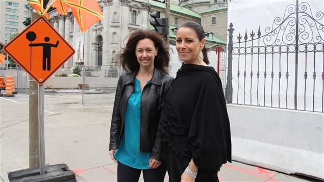 Manon Gauthier et Sylvie Champeau