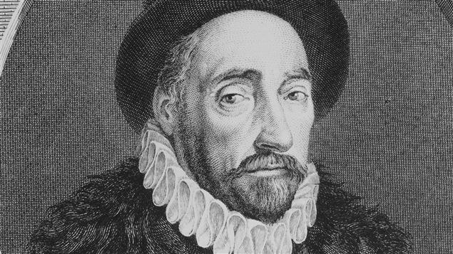 Le philosophe Michel de Montaigne, vers 1580.