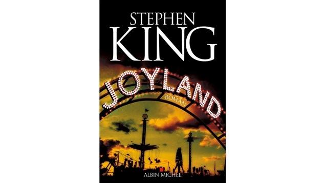 La couverture de <i>Joyland</i>, de Stephen King, publié aux éditions Albin Michel.