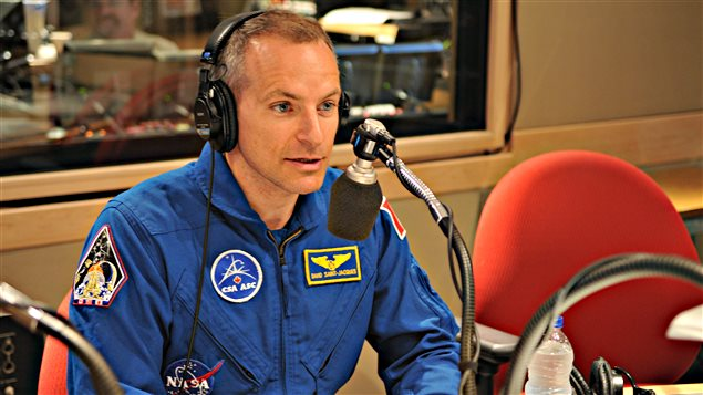 David Saint-Jacques, astronaute canadien