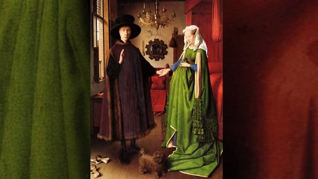 <em>Les époux Arnolfini</em>, de Jan Van Eyck (1434)