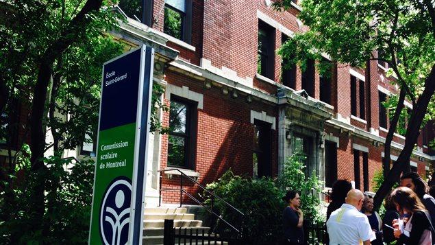 L'école Saint-Gérard de la CSDM, à Montréal