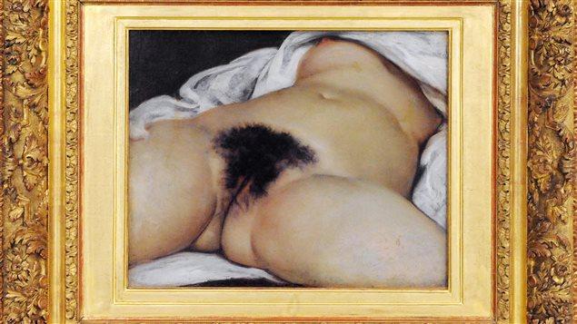 «L'origine du monde» de Gustave Courbet