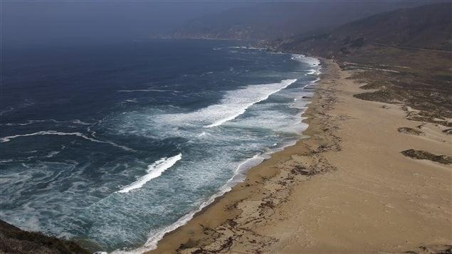 Vue de l'océan pacifique en Colombie-britannique