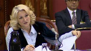 La ministre Lise Thériault