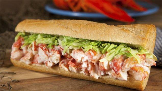 Un exemple de lobster roll