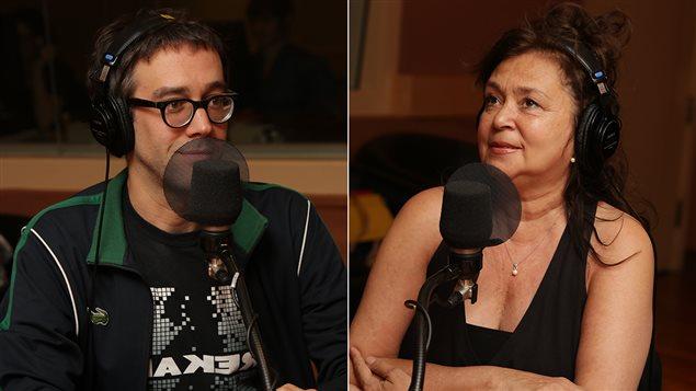 François Létourneau et Louise Bombardier