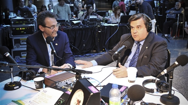 Richard Bergeron et Denis Coderre