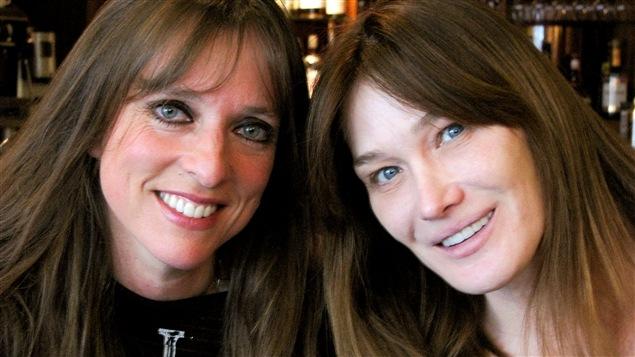 Rencontre rare entre Lynda Lemay et Carla Bruni.
