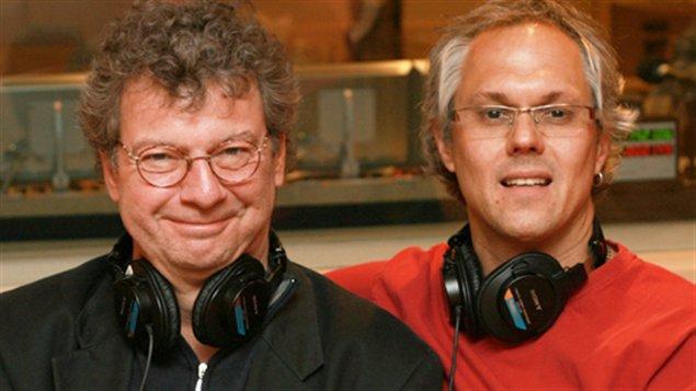 Les animateurs Jacques Bertrand et Philippe Laguë