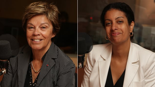 Louise Beaudoin et Dominique Anglade