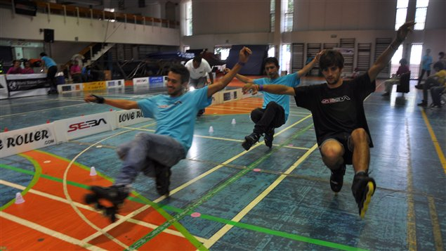 Le Roller Fest de Mexico est une comp�tition affili�e � la World Slalom Skaters Association.