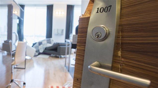 Appartement où les trois fugitifs ont été arrêtés.