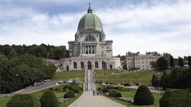 L'Oratoire Saint-Joseph à Montréal est l'un des haut lieux du tourisme religieux québécois.