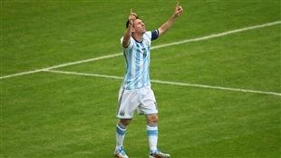 Messi soulève l'Albiceleste