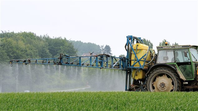 Épandage de pesticide en France