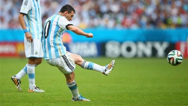 Qui d'autre que Lionel Messi pour redonner les devants à l'Argentine?