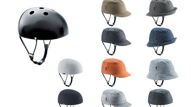 Il n'y a plus aucune raison de dire qu'un casque de vélo vous sied mal, voici ceux conçus par une compagnie danoise.