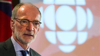 Hubert T. Lacroix, président de CBC/Radio-Canada