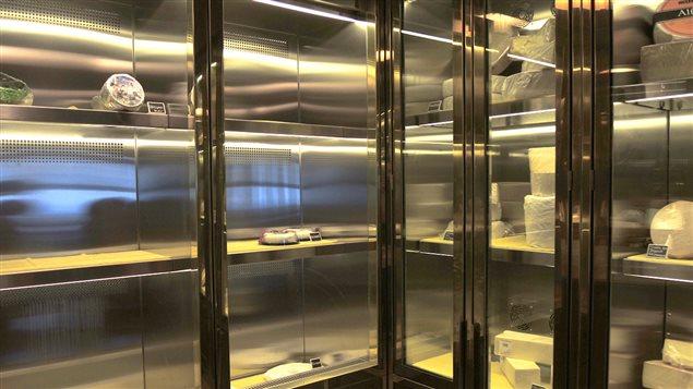 Le cellier à fromage du Château Frontenac
