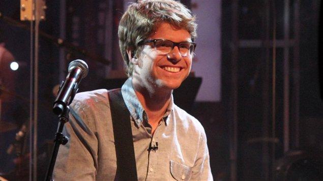 Vincent Vallières à l'émission Pénéloppe McQuade en juin 2014