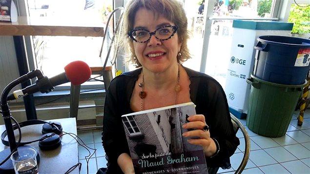 La romancière Chrystine Brouillet