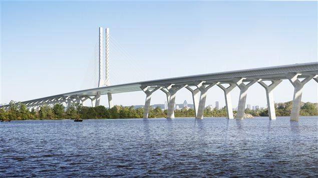 Le futur pont Champlain.