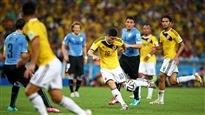 Match Colombie-Uruguay
