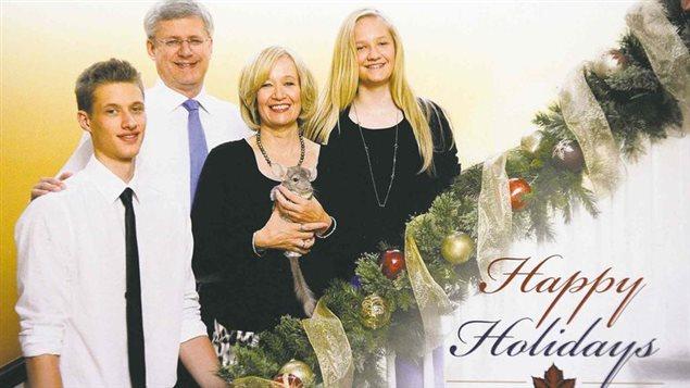 Carte de Noël de la famille Harper