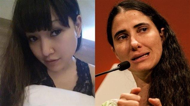 Deux figures de la résistance sur le web : la Thaïlandaise Rose Amornpat et la Cubaine Yoani Sanchez