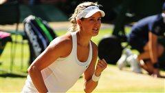 La Québécoise Eugenie Bouchard, 20 ans, s'est qualifiée pour la finale du tournoi de Wimbledon