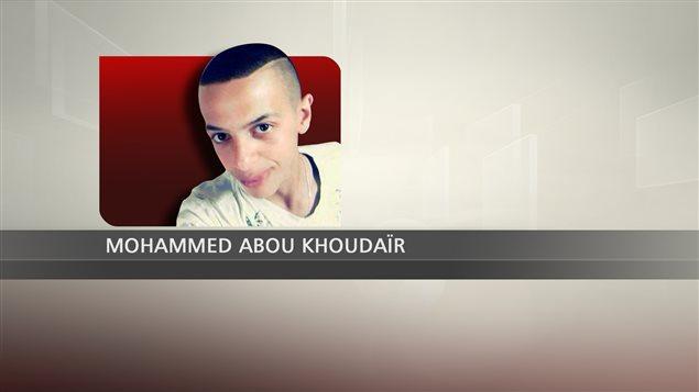 Mohammed Abou Khoudaïr, adolescent palestinien tué par des extrémistes israéliens