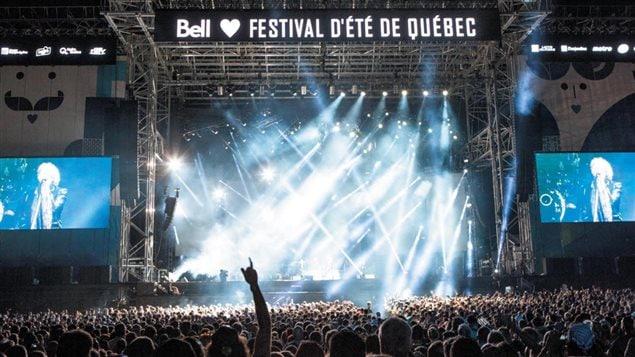Scène du Festival d'été de Québec